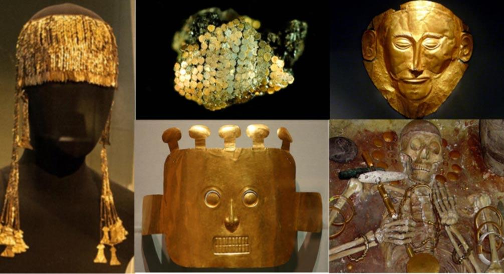 """Inkowie nazywali złoto """"łzami Słońca"""""""